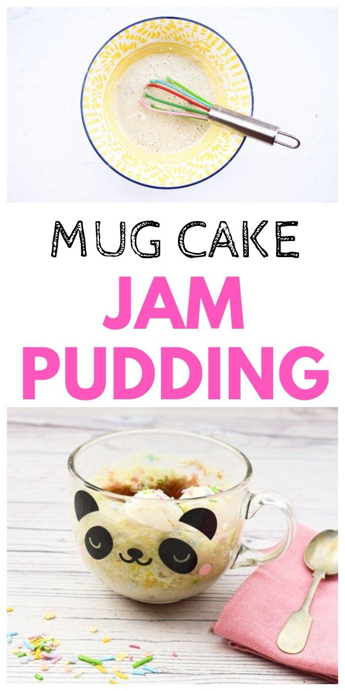 Easy Microwave Jam Sponge Pudding   Tinned Tomatoes