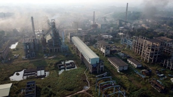 Nhập sai thiết bị Trung Quốc, nhà máy gang thép Thái Nguyên thành đống sắt vụn