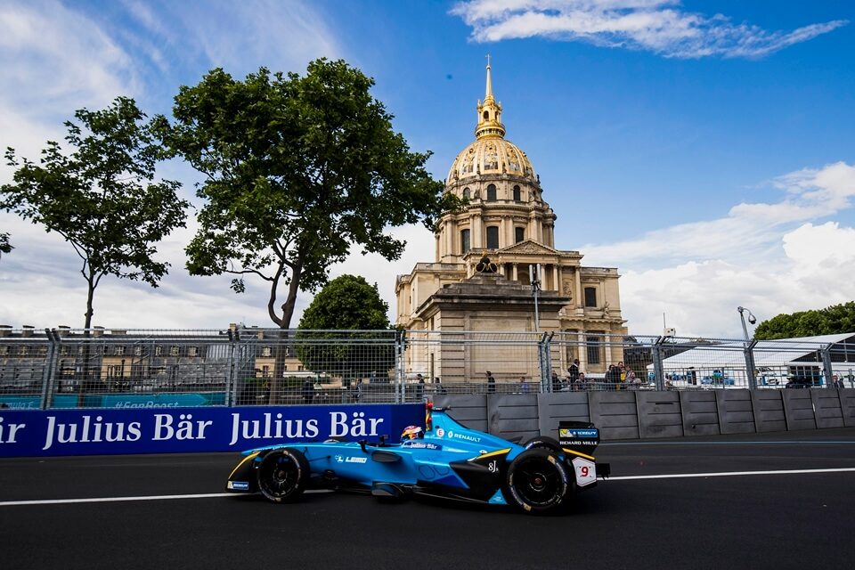 paris eprix buemi asegura la pole chicas racing. Black Bedroom Furniture Sets. Home Design Ideas