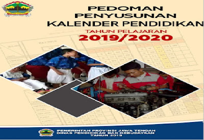 Kalender Pendidikan provinsi Jawa Tengah Tahun Pelajaran20192020