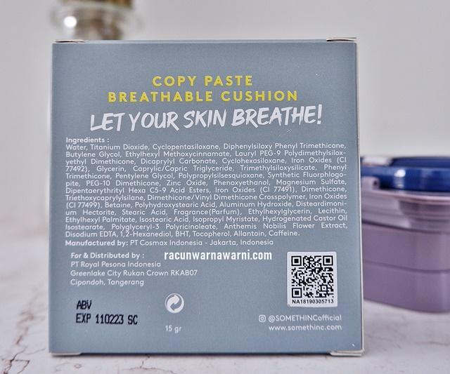 Ingredient Somethinc Copy Paste Breathable Mesh Cushion