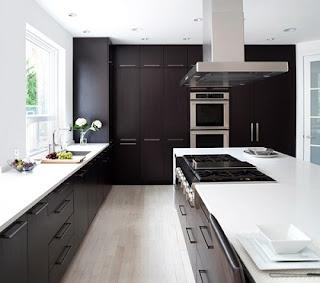 Cocina gris moderna