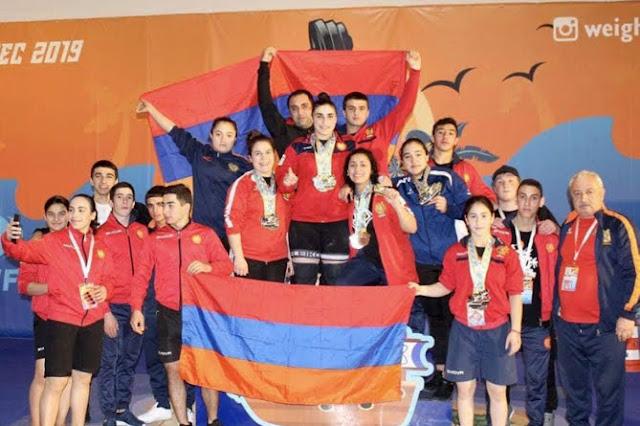 Jóvenes armenios ganaron 13 medallas en Campeonato de Europa