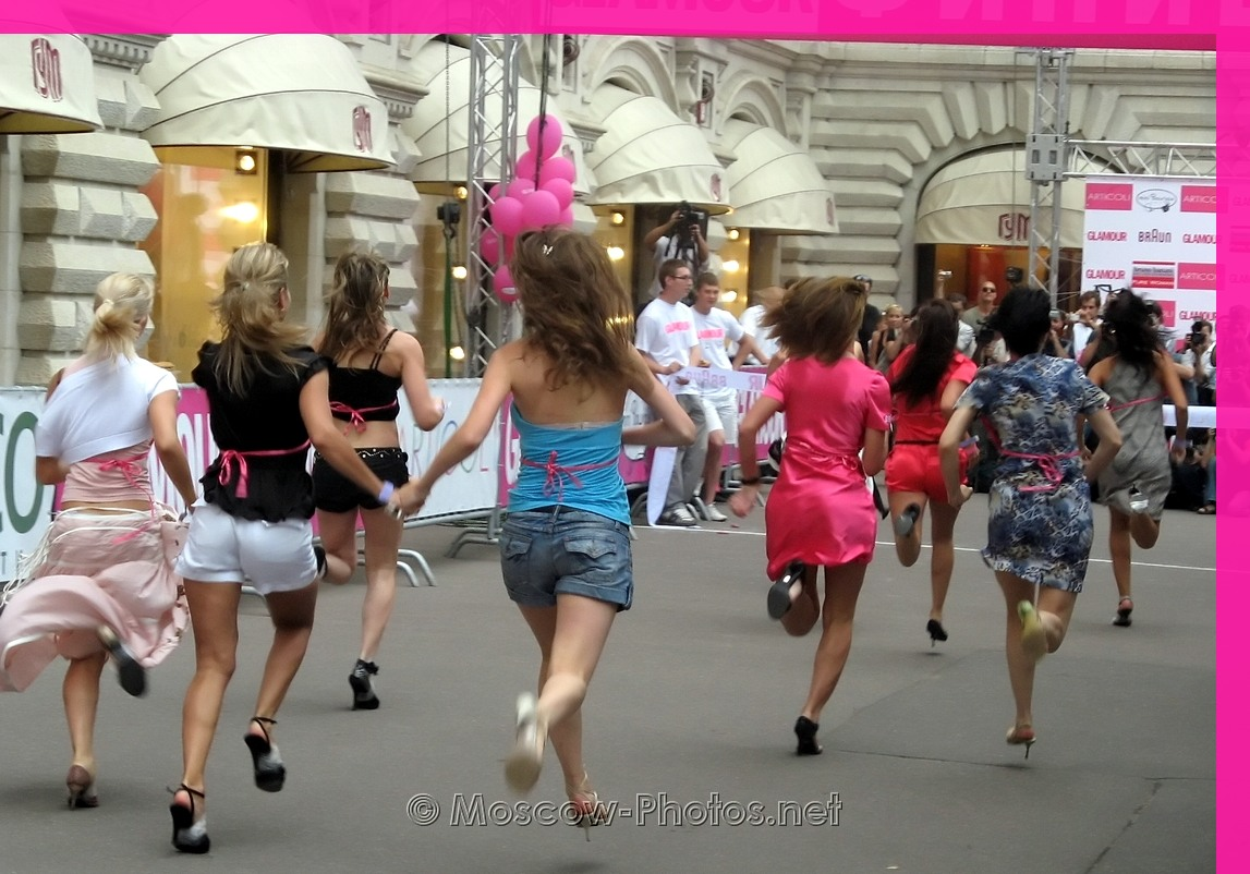 Glamour Stiletto Run - 2008, Moscow