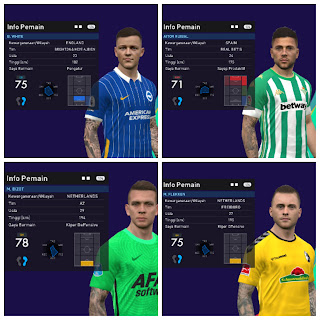 PES 2017 New Lite Addon T99 Tattoo Pack Unofficial