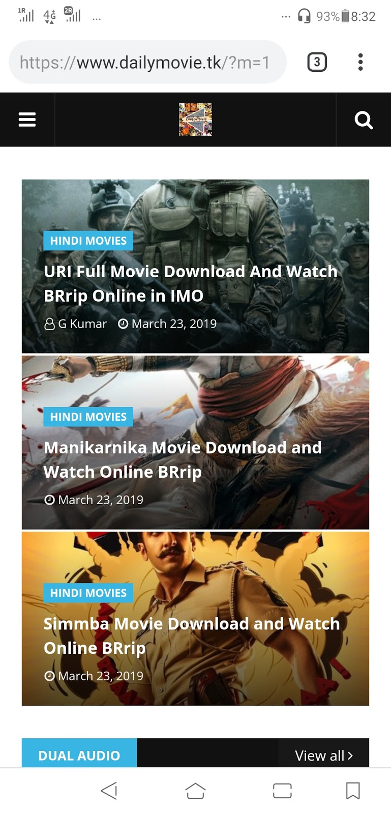 Free Download and Watch latest Bollywood and Hollywood