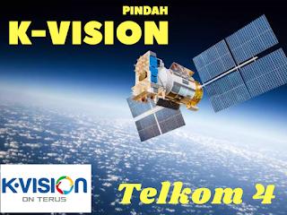 K-Vision Akan Pindah Ke Satelit Telkom 4 Tinggalkan Palapa D, Khusus Parabola C-Band Jaring 6, 7 Feet Berikut Frekuensi Transponder terbaru Telkom 4 merah Putih