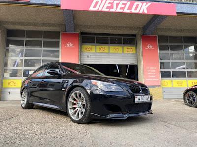 BMW M5 chiptuning by Dieselok Performance Moldova
