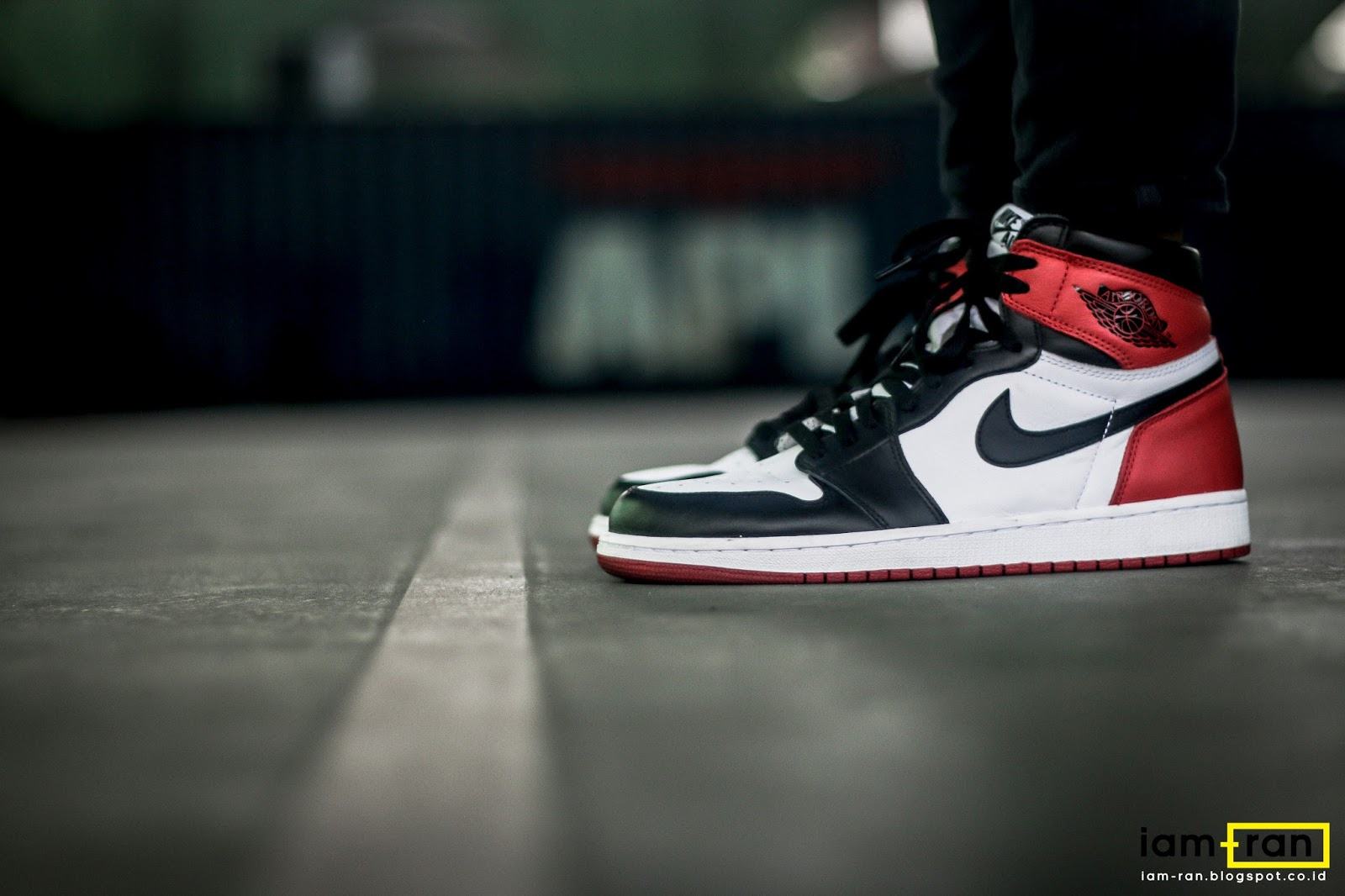 IAM-RAN  ON FEET   Derry - Nike Air Jordan 1