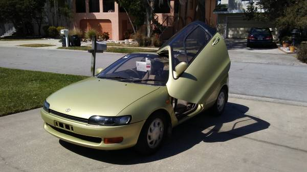 1990 toyota sera jdm import for sale keep cars weird wednesday. Black Bedroom Furniture Sets. Home Design Ideas