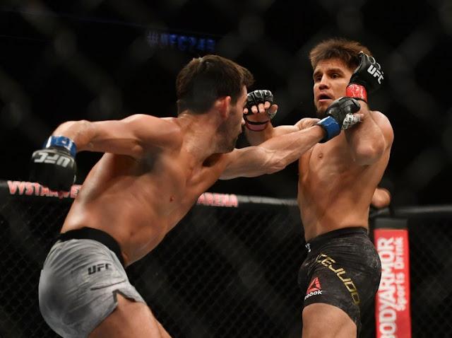 Henry Cejudo takes Dominick Cruz UFC 249