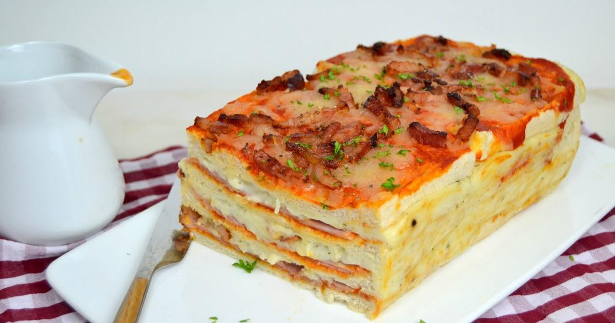 Cake Mozzarella Tomate Grappe