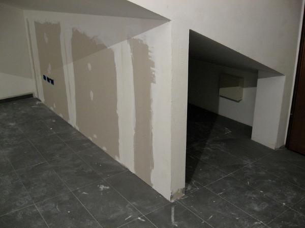 parete cartongesso-rasatura-stuccatura
