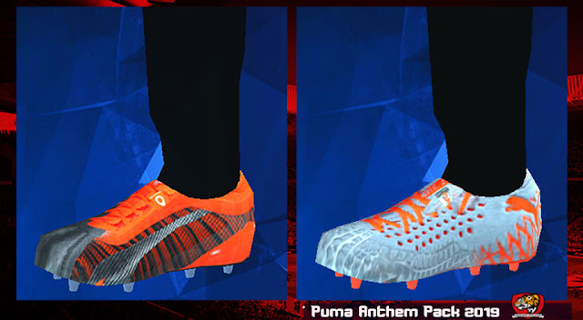 New Boots Puma 'Anthem Pack' 2019 For PES 2014 PPSSPP