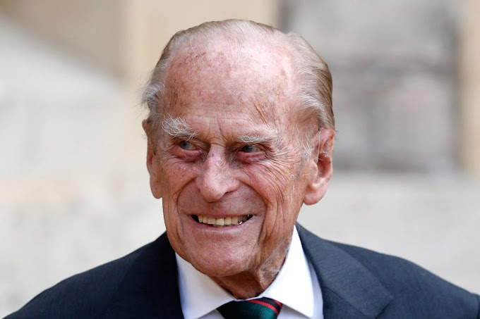 Prince Philip's cause of death listed as 'old age'