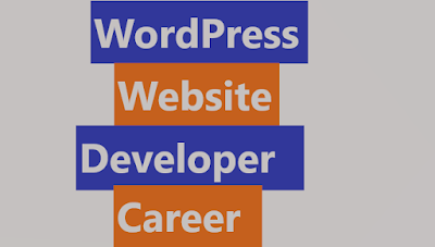 WordPress website developer career