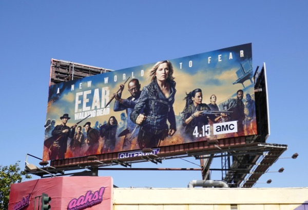 Fear the Walking Dead season 4 billboard