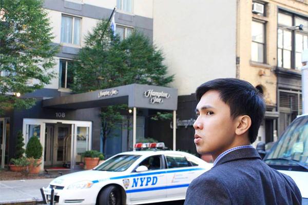 Michael at New York City