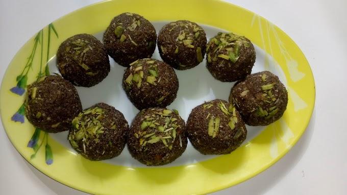 नाचणी / रागी सत्त्व के लड्डू Nachni / Ragi Satva Ke Laddo Recipe In Hindi