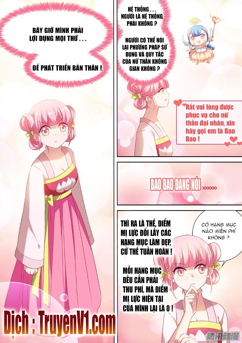 Hệ Thống Chế Tạo Nữ Thần chap 12 - Trang 4