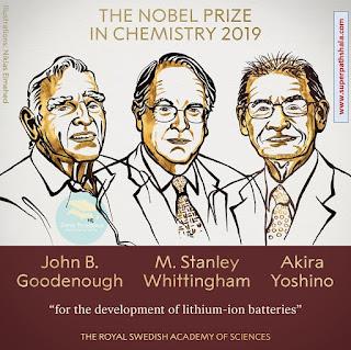 3. The Nobel Prize in Chemistry 2019 - John B. Goodenough, M. Stanley Whittingham and Akira Yoshino