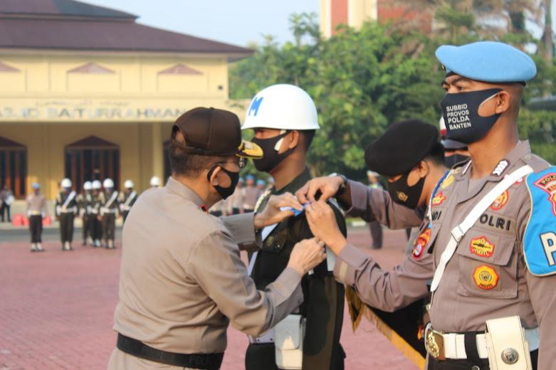 Polda Banten Apel Gelar Pasukan Operasi Patuh Kalimaya 2020