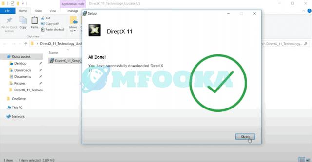 تحميل وتثبيت برنامج directx 11