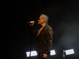 Morrissey opening with The Last Of The Famous International Playboys