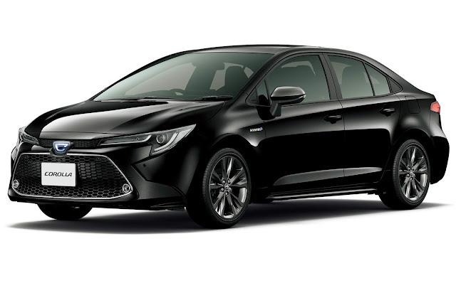 Novo Corolla 2020 chega ao Japão com tamanho de Virtus