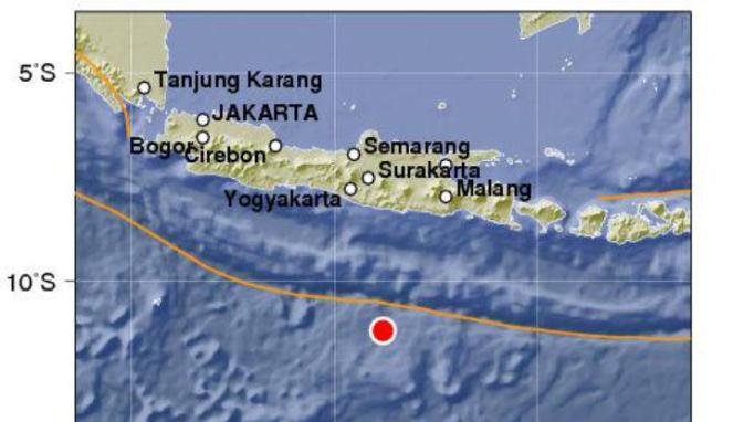 Yogyakarta Diguncang Gempa 3,8 Skala Richter