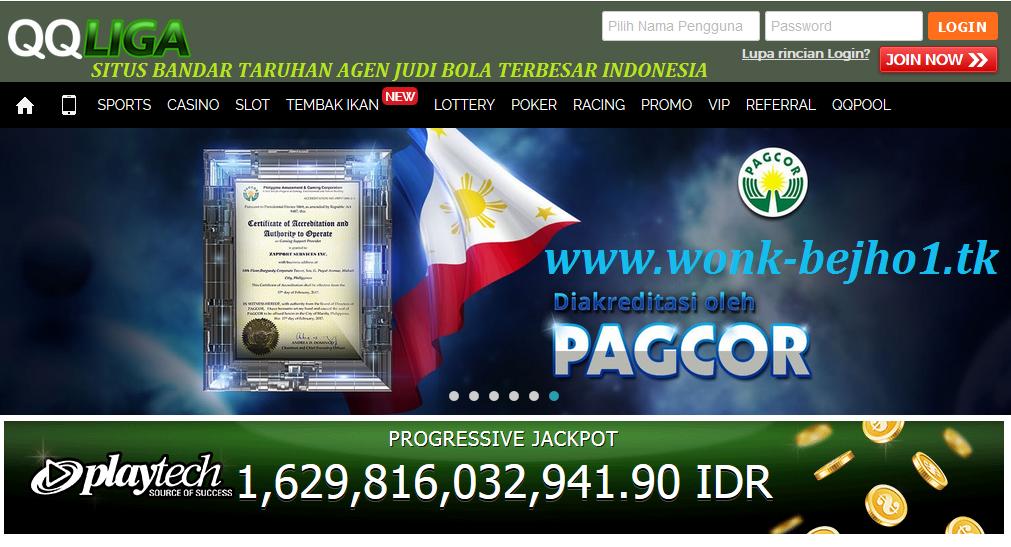 QQLIGA.COM SITUS BANDAR JUDI BOLA TERBESAR INDONESIA