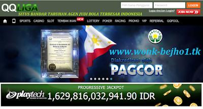 QQLIGA.COM SITUS BANDAR TARUHAN AGEN JUDI BOLA TERBESAR INDONESIA