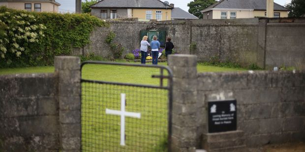 Mass grave found at ex-Catholic orphanage in Ireland