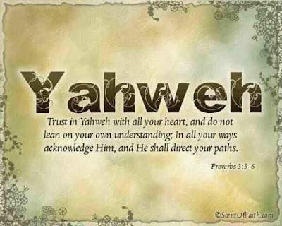 """10 Hal Yang Berarti """"Yahweh"""""""