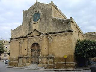 The church of Santa Maria Assunta, also known as the Chiesa Madre - mother church - in Castelvetrano