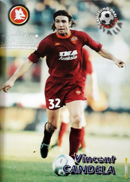VINCENT CANDELA OF AS ROMA