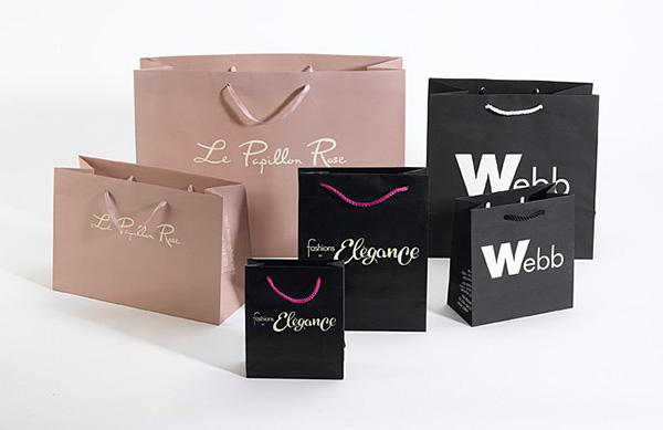 in túi giấy đẹp cho shop thời trang