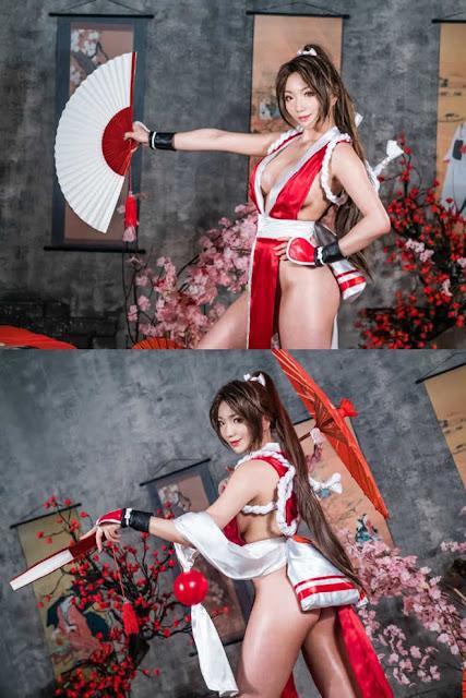 Bỏng mắt trước loạt ảnh khoe body của đã nữ Pion Kim trong The King Of Fighters