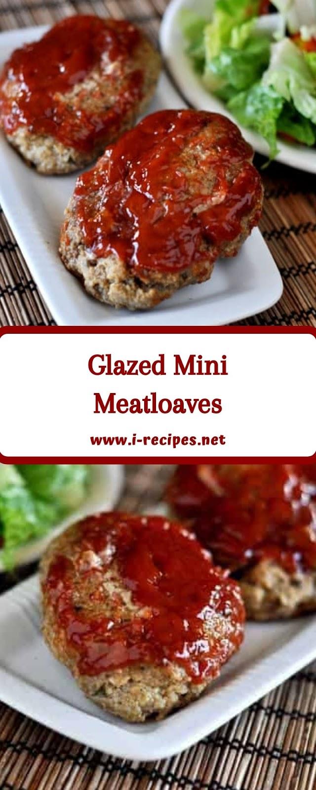 Glazed Mini Meatloaves