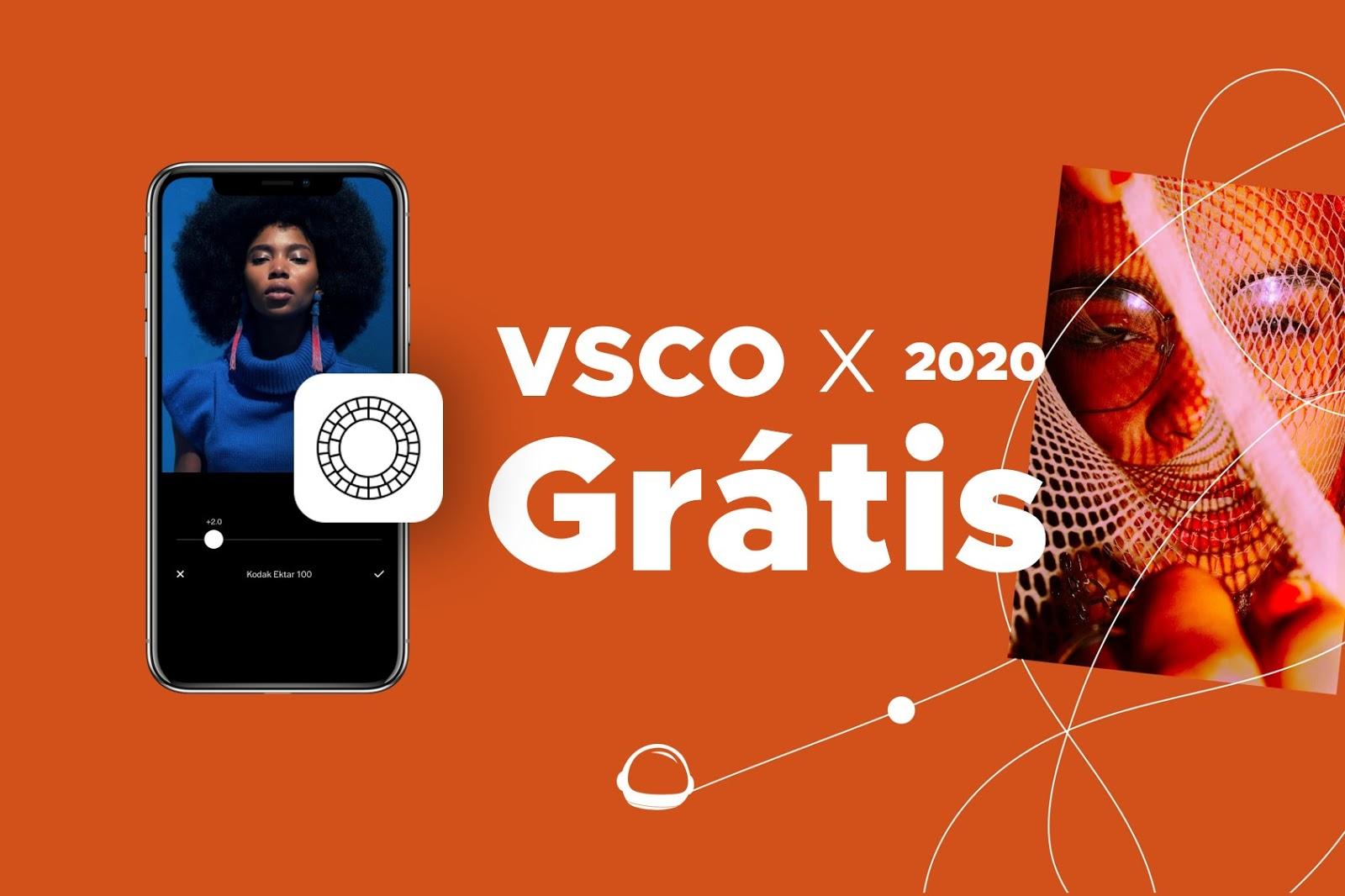 VSCO X com todos os filtros grátis 2020