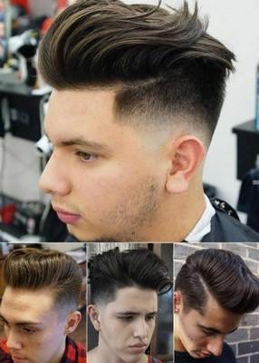 gaya rambut pria pendek samping