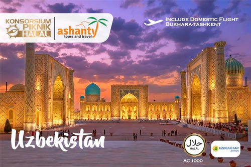 paket tour surabaya uzbekistan