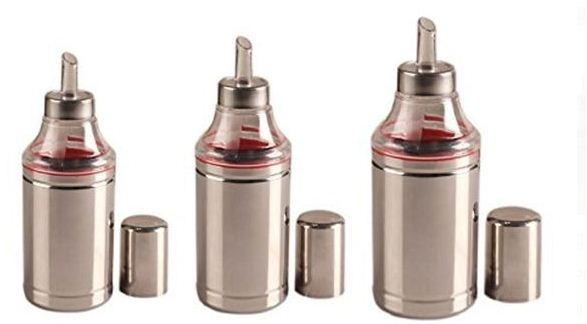Stainless Steel Oil Dropper Set