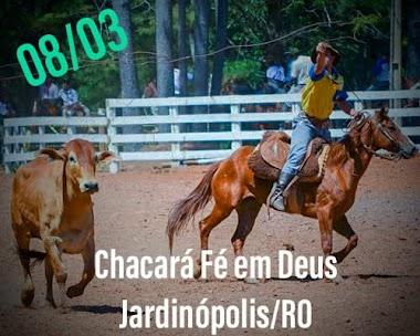 BOLÃO DA CHÁCARA FÉ EM DEUS - JARDINÓPOLIS /RO DIA 08/03/2020