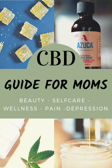 CBD Guide for Moms - wellness, beauty, selfcare and pain relief products