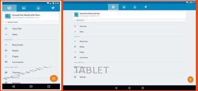 aplikasi wordpress androids