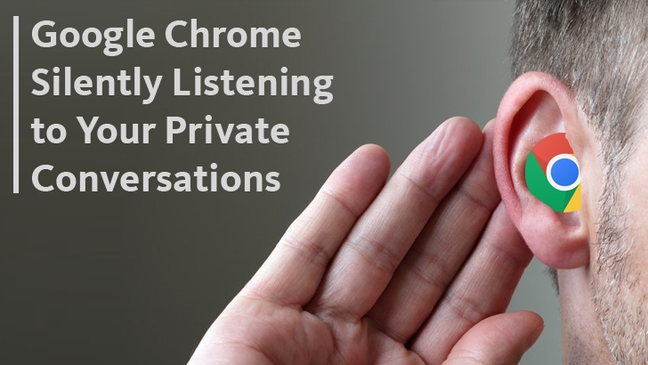 Google Chrome Silently Listening to Your Private Conversations