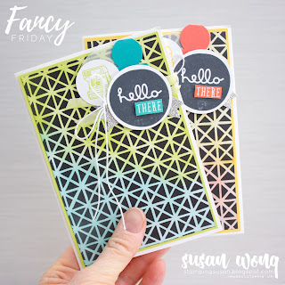 Pieces and Patterns with Petal Passion Designer Series Paper by Stampin' Up! - Susan Wong for Fancy Friday