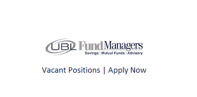 UBL Fund Manager Jobs In Pakistan May 2021 Latest | Apply Now