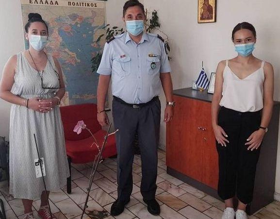 Επίσκεψη του ΚΕΘΕΑ ΕΞΟΔΟΣ στη Διεύθυνση Αστυνομίας Φθιώτιδας